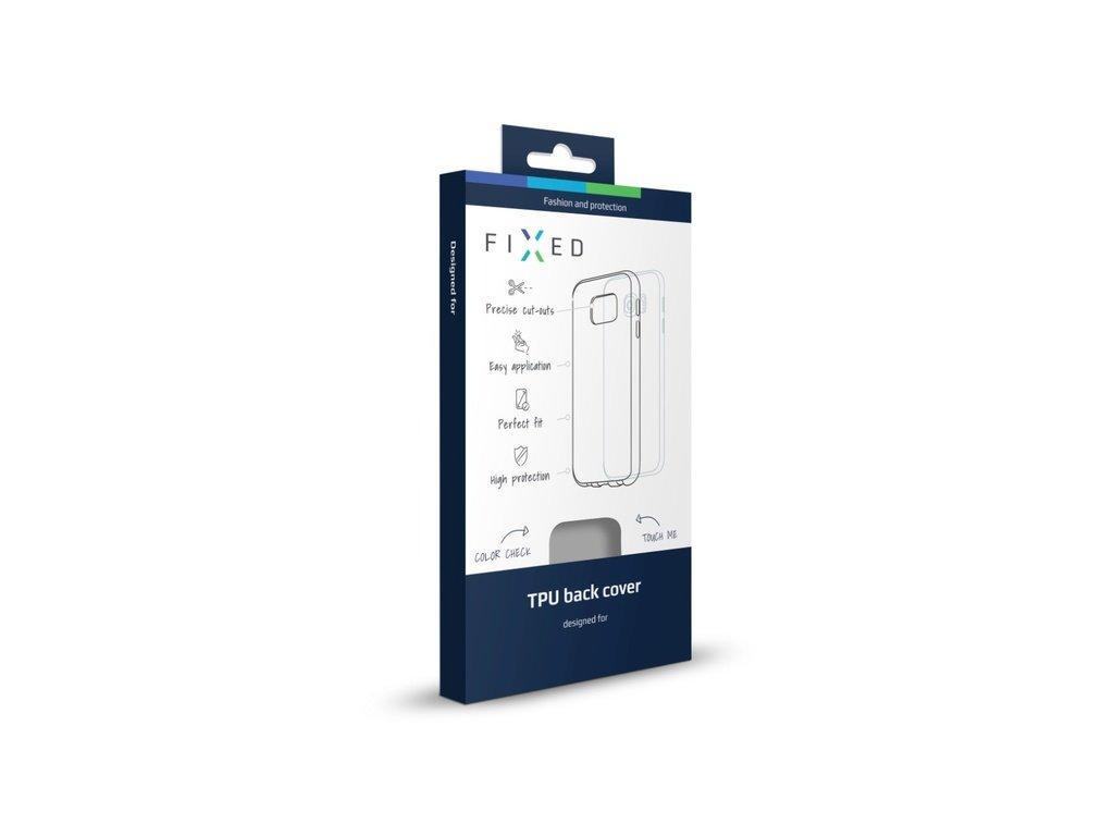 FIXED TPU gelové pouzdro pro iPhone 6/6S, kouřové