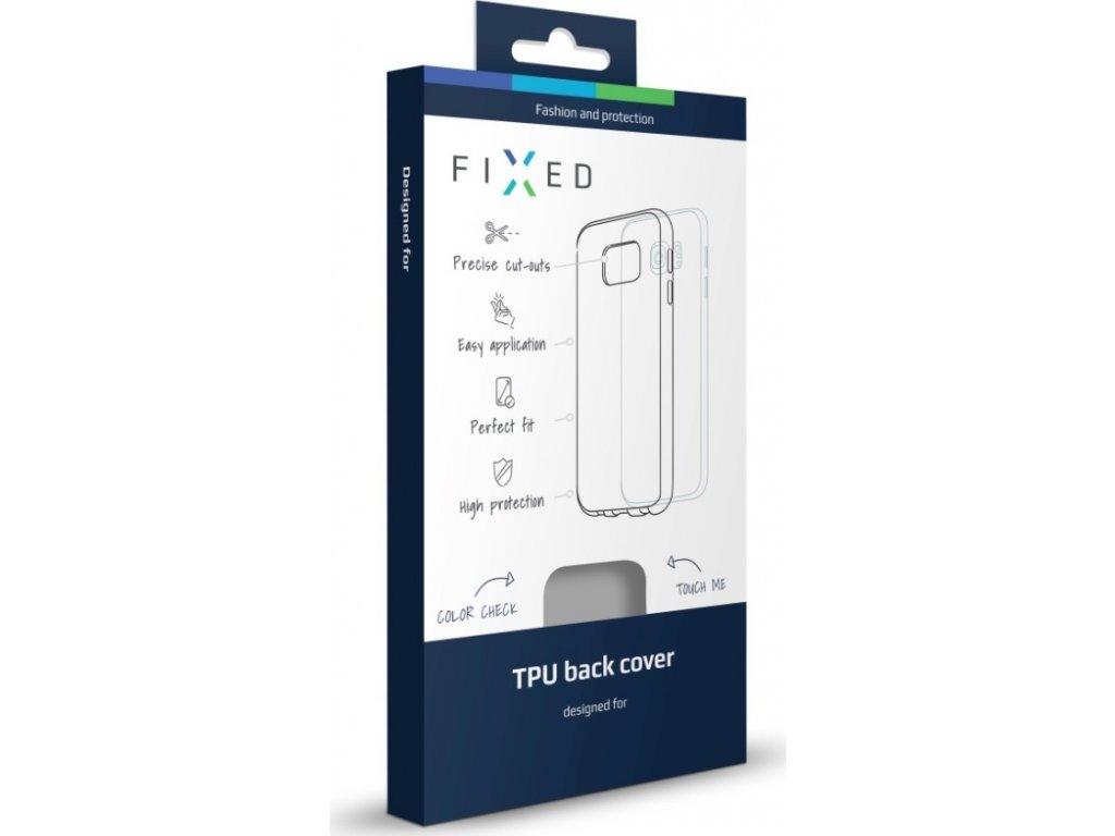 TPU gelové pouzdro FIXED pro Apple iPhone 7 Plus, bezbarvé