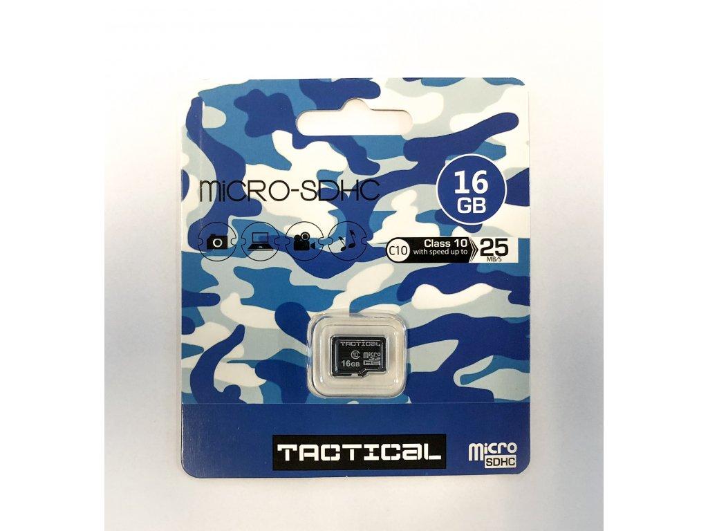 Paměťová karta Tactical 16GB microSDHC Class 10 wo:a