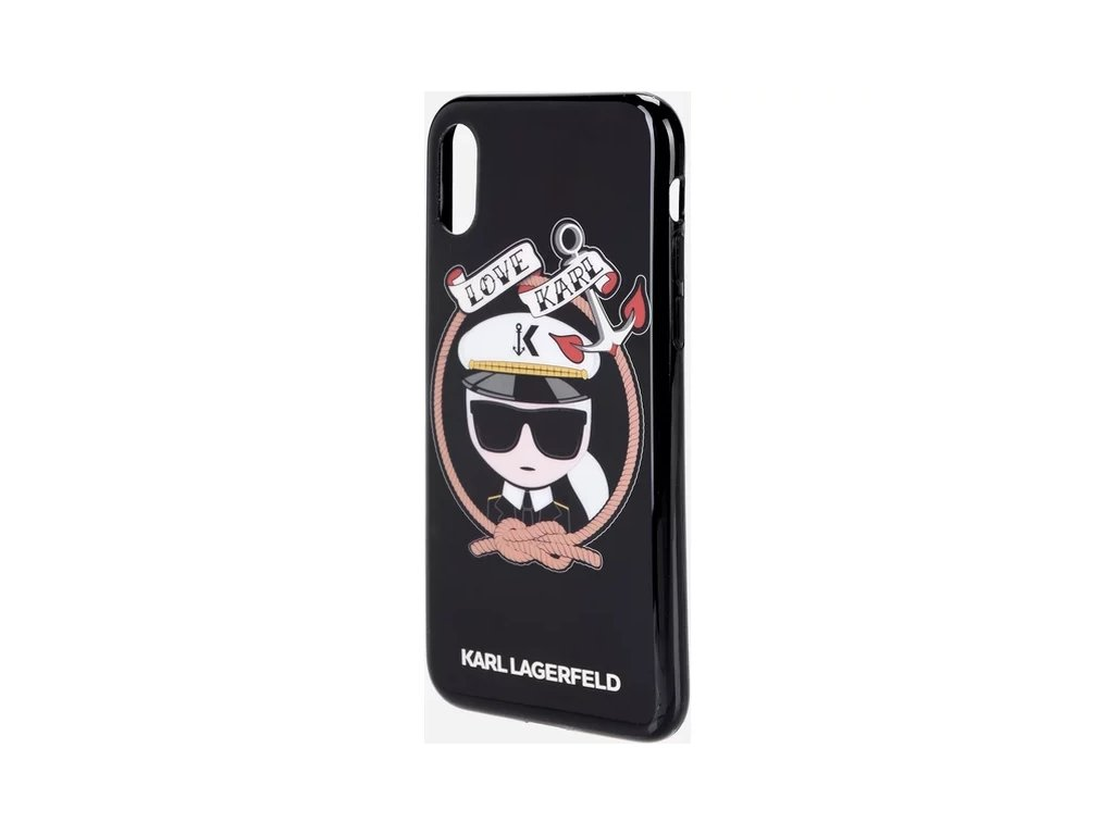 karl lagerfeld sailor apple iphone x cerne 03