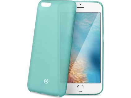 Ultra tenké TPU pouzdro CELLY Frost pro Apple iPhone 7 Plus/8 Plus, 0,29 mm, tyrkysové