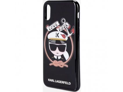 karl lagerfeld sailor apple iphone x cerne 03
